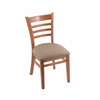 "3140 18"" Chair with Medium Finish, Rein Thatch Seat"
