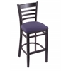 "Holland Bar Stool Co. 3140  25"" Stool with Black Finish, Axis Denim Seat"
