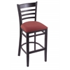 "3140 25"" Stool with Black Finish, Axis Paprika Seat"