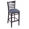 "3140 25"" Stool with Black Finish, Rein Bay Seat"