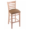 "3140 30"" Stool with Natural Finish, Allante Beechwood Seat"