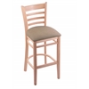 "3140 30"" Stool with Natural Finish, Rein Thatch Seat"