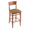 "Holland Bar Stool Co. 3160  25"" Stool with Medium Finish, Allante Beechwood Seat"