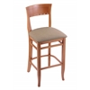 "3160 25"" Stool with Medium Finish, Rein Thatch Seat"