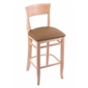 "3160 25"" Stool with Natural Finish, Allante Beechwood Seat"