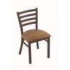 "Holland Bar Stool Co. 400 Jackie 18"" Chair with Bronze Finish, Allante Beechwood Seat"