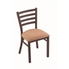 "Holland Bar Stool Co. 400 Jackie 18"" Chair with Bronze Finish, Axis Summer Seat"