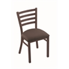 "400 Jackie 18"" Chair with Bronze Finish, Axis Truffle Seat"