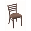 "400 Jackie 18"" Chair with Bronze Finish, Axis Willow Seat"