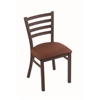 "400 Jackie 18"" Chair with Bronze Finish, Rein Adobe Seat"