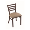 "Holland Bar Stool Co. 400 Jackie 18"" Chair with Bronze Finish, Rein Thatch Seat"
