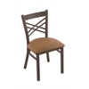 "Holland Bar Stool Co. 620 Catalina 18"" Chair with Bronze Finish, Allante Beechwood Seat"