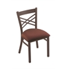 "620 Catalina 18"" Chair with Bronze Finish, Axis Paprika Seat"