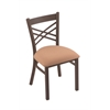 "Holland Bar Stool Co. 620 Catalina 18"" Chair with Bronze Finish, Axis Summer Seat"