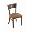 "630 Voltaire 18"" Chair with Bronze Finish, Allante Beechwood Seat, and Dark Cherry Maple Back"