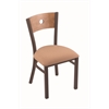 "630 Voltaire 18"" Chair with Bronze Finish, Axis Summer Seat, and Medium Maple Back"