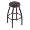 "802 Misha 30"" Bar Stool with Bronze Finish, Axis Truffle Seat, and 360 swivel"
