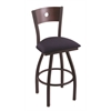 XL 830 Voltaire Swivel Stool with Dark Cherry Maple B Back
