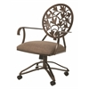 Brownsville Caster Chair, Tan