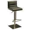 Pastel Furniture Dubai Hydraulic Barstool, PU Black
