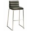 Pastel Furniture Dominica Barstool, PU Black