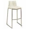 Pastel Furniture Daqo Barstool, PU Ivory