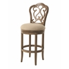 Pastel Furniture Fontana Swivel Barstool, Wren Linen