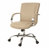 Pastel Furniture Lachman Office Chair, PU Beige