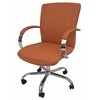 Lachman Office Chair, PU Orange