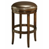 Pastel Furniture Naples Bay Backless Barstool, Leather Ridge