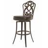 Pastel Furniture Orbit Swivel Barstool, Melvin Chocolate