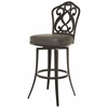 Orbit Swivel Barstool, Gray