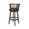 Pastel Furniture Ortona Swivel Barstool, Stallion Brown