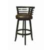 Pastel Furniture Ortona Swivel Barstool, Stallion Burnt