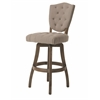 Pastel Furniture Philadelphia Swivel Barstool, MY Putty Ivory