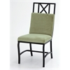 Pastel Furniture Seville Side Chair, Bella Lichen