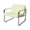 Tibet Club Chair, White