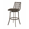 Pastel Furniture Valentijn Swivel Barstool, Melvin Chocolate