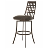 Pastel Furniture Washington Swivel Barstool, Melvin Chocolate
