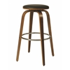 Yohkoh Swivel Barstool, PU Black