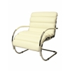 Zen Club Chair, White