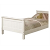 Willoughby Twin Bed, White
