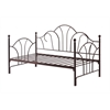 METAL DAY BED - BRONZE H46.3""