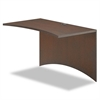 Mayline Brighton Series Laminate Bridge, 48w x 24d x 29h, Mocha