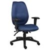 Boss Blue High Back Task Chair W/ Seat Slider