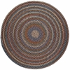 Rhody Rug Astoria Walnut 8' Round