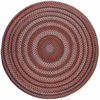 Rhody Rug Astoria Red Velvet 6' Round