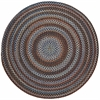 Rhody Rug Astoria Black Rock 8' Round