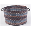 "Astoria Blue Dragon 18"" x 12"" Basket"