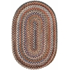 Rhody Rug Astoria Walnut 4X6 Oval